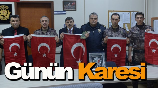 Emniyet Müdürü Dağdeviren'den polislere moral ziyareti
