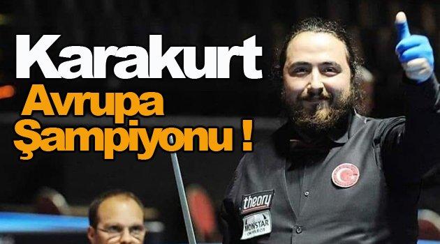 Karakurt Avrupa Şampiyonu !