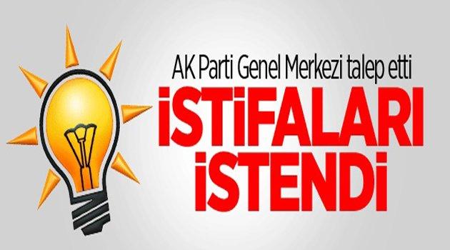 AK Parti İl Yönetimi İstifa Etti