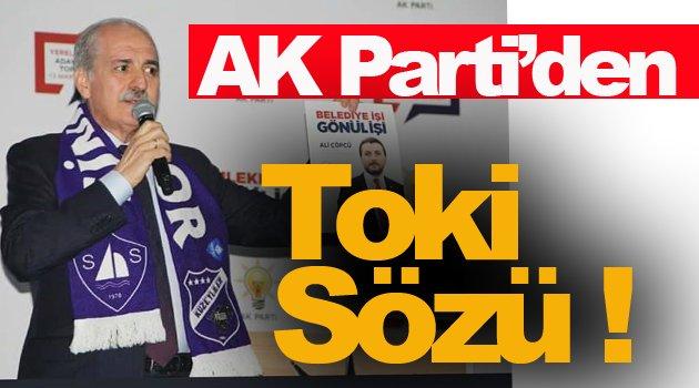 AK Parti'den Sinoplulara Toki Sözü