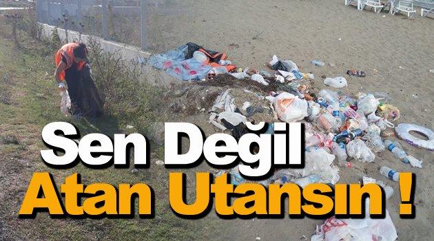 Aslında topladığı çöp değil insanlık !