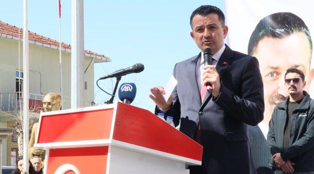 """Bakan Bekir Pakdemirli: """"Milletin gerçek tecellisinin tek adresi AK Parti'dir"""""""