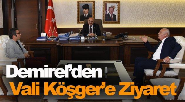 Başkan Demirel'den Eski Sinop Valisi'ne Ziyaret !