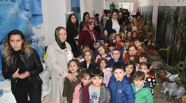 Boyabat'ta hayvan figürleri sergisi açıldı