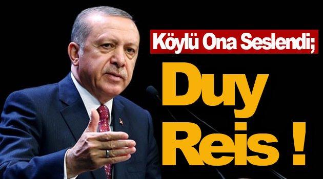Çaresiz Köylü Erdoğan'a seslendi !