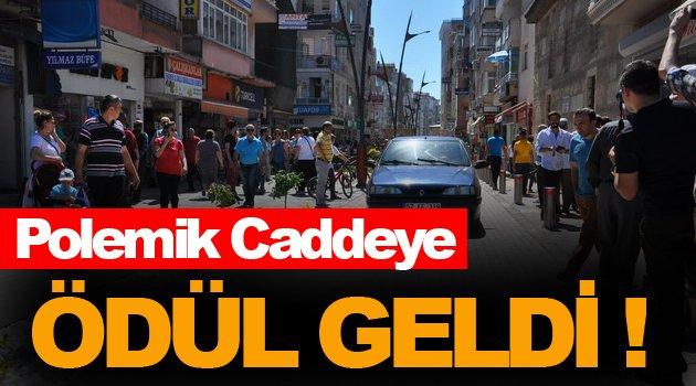 Dillere Destan Cadde Başkan Ergül'e Ödül Kazandırdı !
