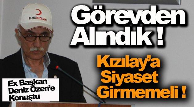 Ex Başkan Korucuoğlu; Ne İstifası Görevden Alındık !