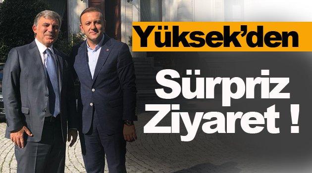 Hüseyin Yüksek, 11. Cumhurbaşkanı Gül'ü  Ziyaret Etti !