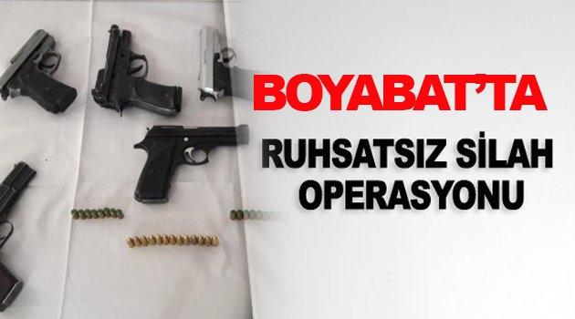 İlçede Silah Operasyonu !