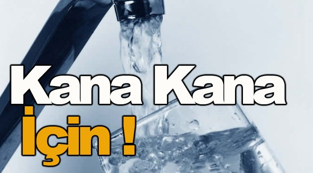 Mutlu kentin içme suyu temiz !