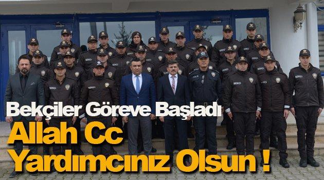 """""""Mutlu şehir"""" Sinop'ta bekçiler göreve başladı"""