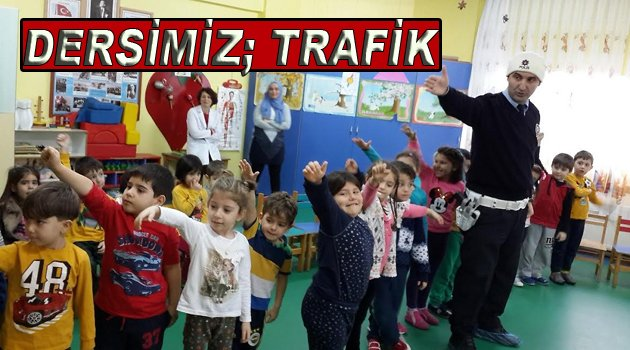Okullarda Trafik Dedektifi Eğitimi Verildi