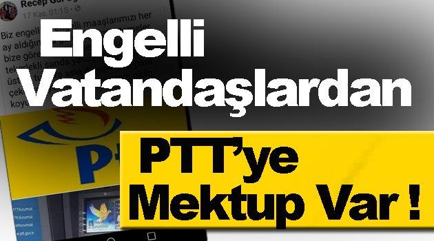 PTT Bu Engeli Kaldırmalı !