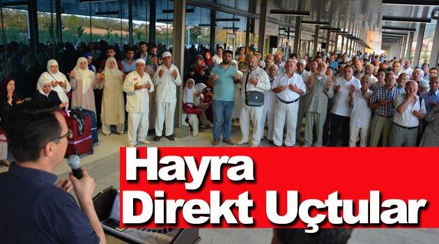 Sinop'tan Direkt Medine-i Münevvere'ye Uçtular