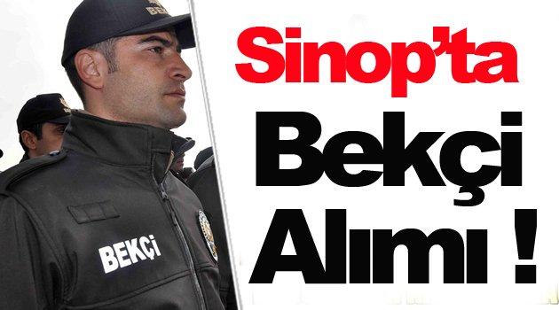 Sinop'ta 35 bekçi alımı yapılacak