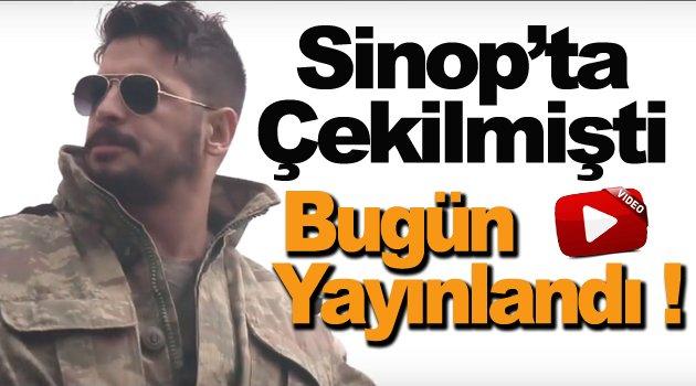 """Sinop'ta çekilen """"Şehidim Kanı"""" adlı albüm yayına girdi"""