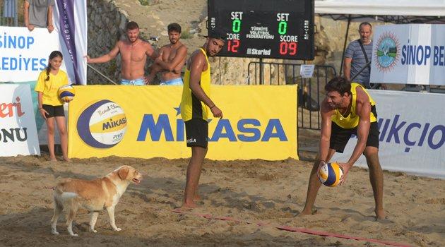 Sinop'ta düzenlenen final müsabakaları sona erdi