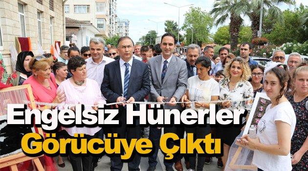 Sinop'ta engellilerin hünerleri görücüye çıktı
