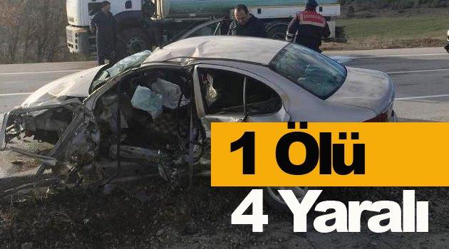 Merkez Haberleri: Sinop'ta trafik kazası: 1 ölü, 4 yaralı 25