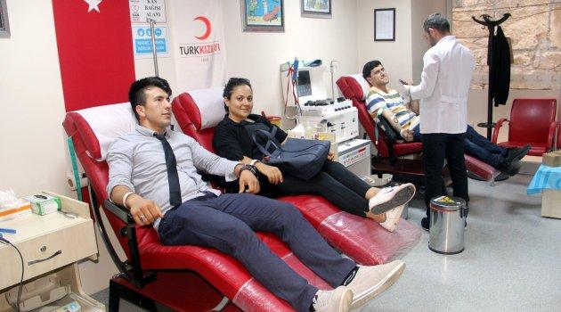 Sinop'ta kan bağışçı sayısında artış