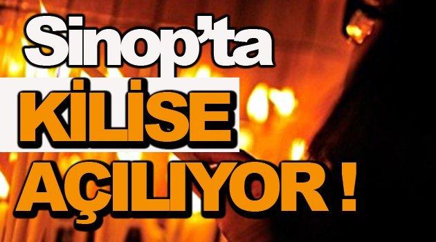 Sinop'ta Kilise mi açılıyor ?