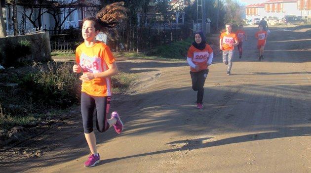Sinop'ta kros yarışları