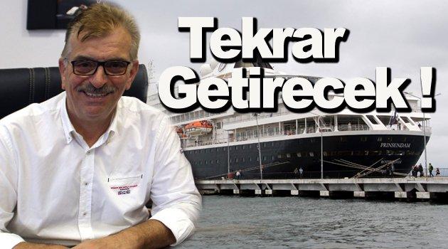 Sinop'ta kruvaziyer turizmi tekrar canlandırılacak