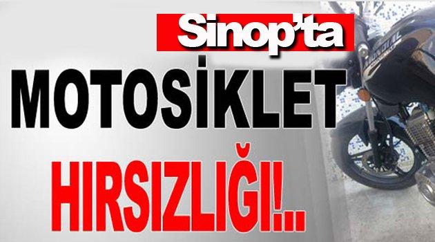 Sinop'ta motosiklet hırsızlığı iddiası: 3 gözaltı