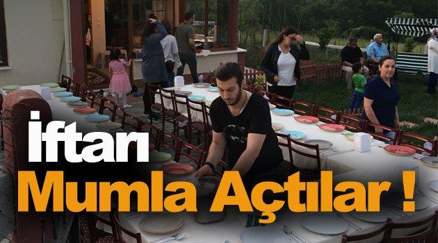 Sinop'ta Mumlu İftar !