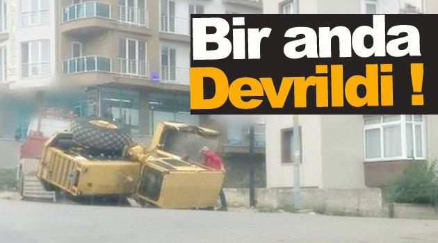 Sinop'ta Silindir Kazası !