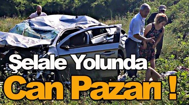 Sinop'ta Trafik Kazası 4 yaralı !