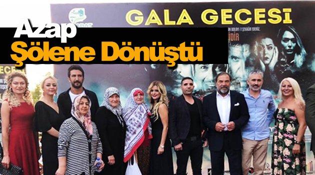 """Sinop'ta """"Zifri Azap"""" filminin galası yapıldı"""