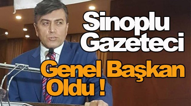 UYGAD Genel Başkanı Sinoplu Gazeteci Oldu !