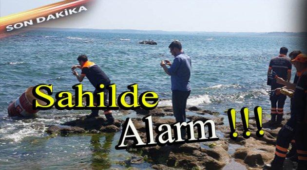 Sinop Sahilinde Alarm !!!