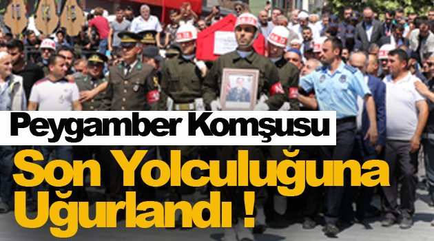 Sinop Şehidi için toplandı !