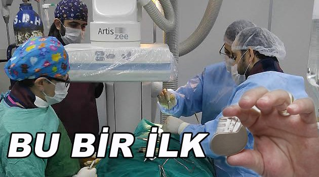 Sinop'ta İlk Kez Kalıcı Kalp Pili Takıldı
