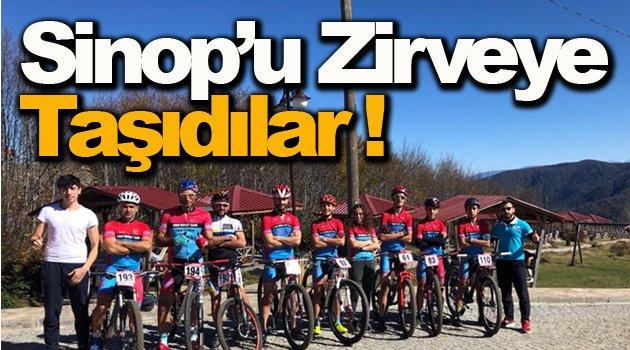 Sinop yaylalara sığmadı !