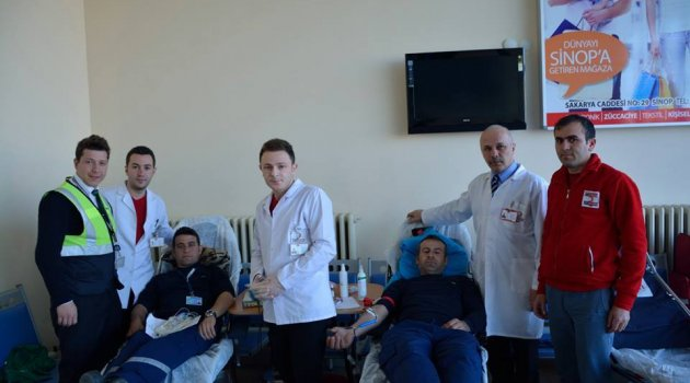 Sinop'ta Kan Bağışı Giderek Artıyor