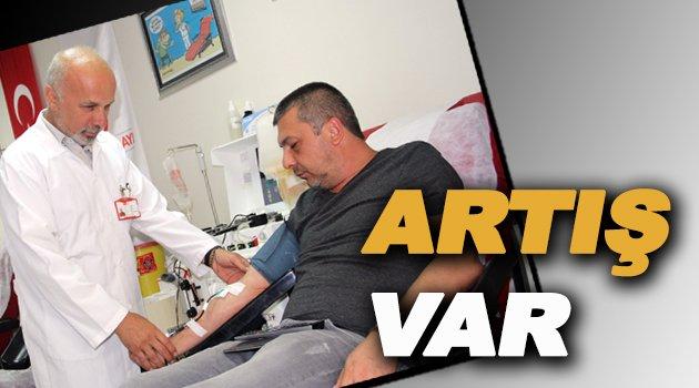 Sinop'ta kan bağışında artış