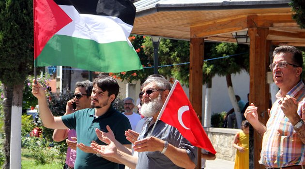 Sinop'tan İsrail'in Mescid-i Aksa'ya yönelik ihlallerine tepki