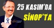 25 Kasım'da Sinop'a Geliyor