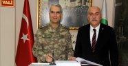4. Kolordu Komutanı Sivri Sinop'ta