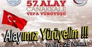 """Gençlik Spordan  """"57. Alay Vefa Yürüyüşü"""""""