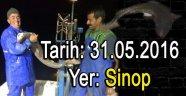 Sinop Kıyısında Köpek Balığı Yakalandı