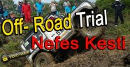 Sinop'ta Off-Road Trial Heyecanı