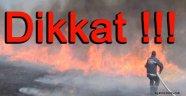 Sinop İtfaiyesinden  Anız Yangını Uyarısı