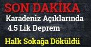 4.5 LİK DEPREM !!!