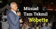 Müsiad Sinop'ta Tam Tekmil Nöbette