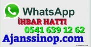 Ajanssinop'tan Bir İlk ; Whatsapp İhbar Hattı