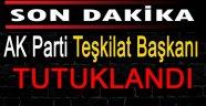 AK Parti Teşkilat Başkanı Tutuklandı